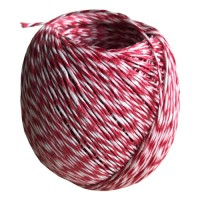 Plombenfaden Rot-Weiß Ø 1 mm x 160 m